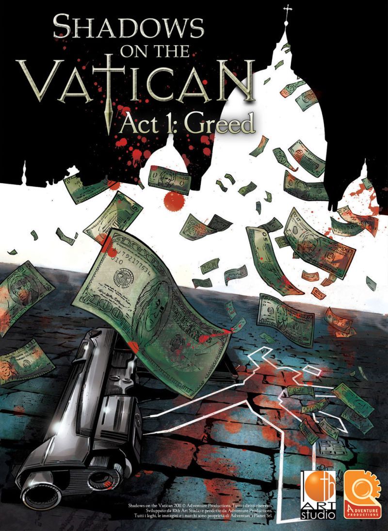 Shadows on the Vatican: Act 1 - Greed Windows Front Cover