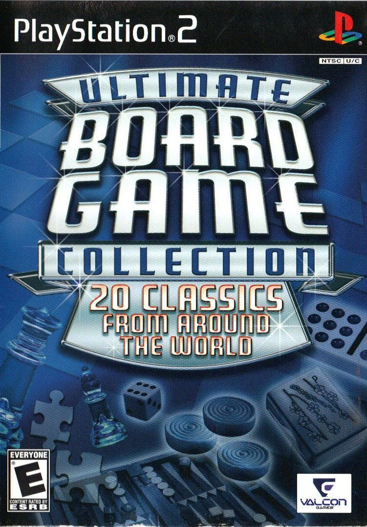 Ultimate Board Game Collection PlayStation 2 Front Cover