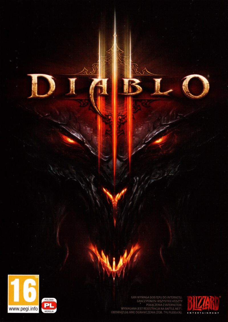 Diablo III Windows Other Keep case - front
