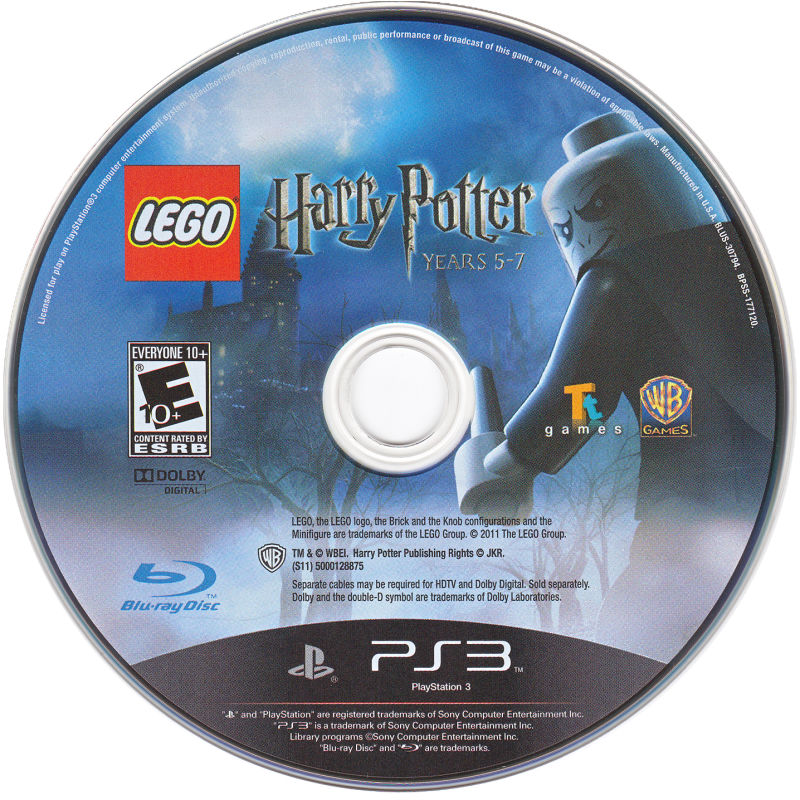 LEGO Harry Potter: Years 5-7 PlayStation 3 Media
