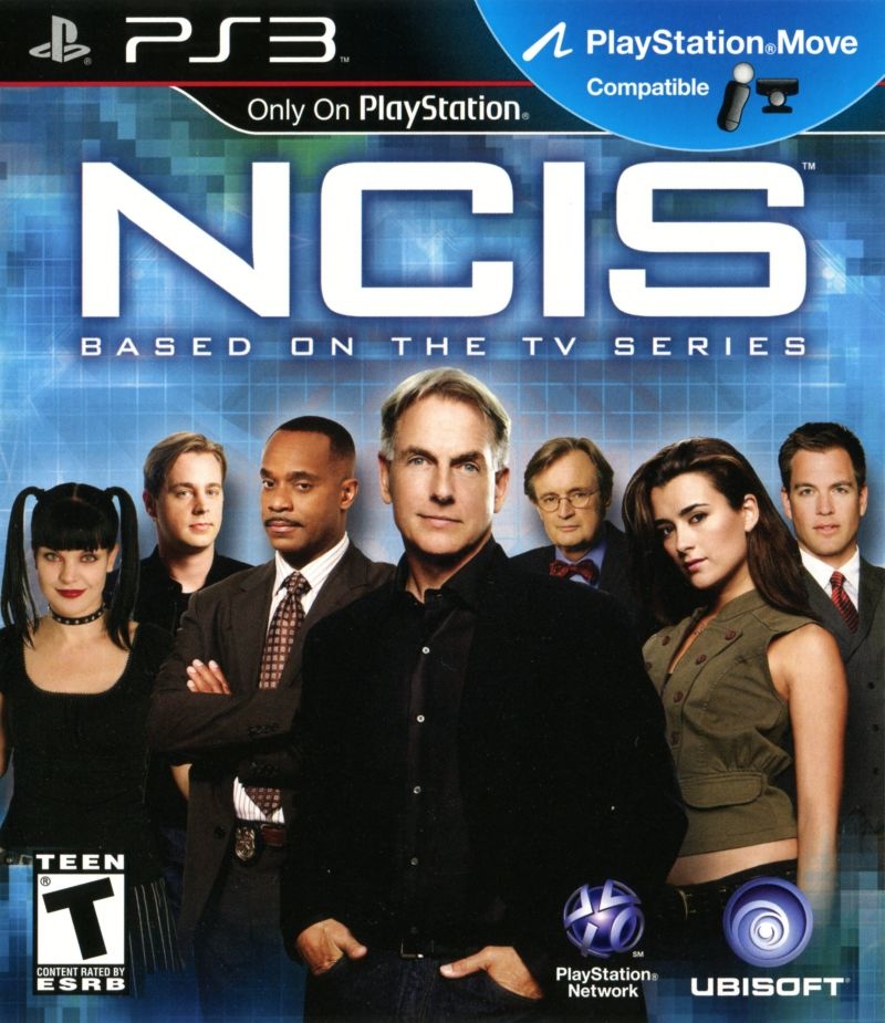 NCIS PlayStation 3 Front Cover