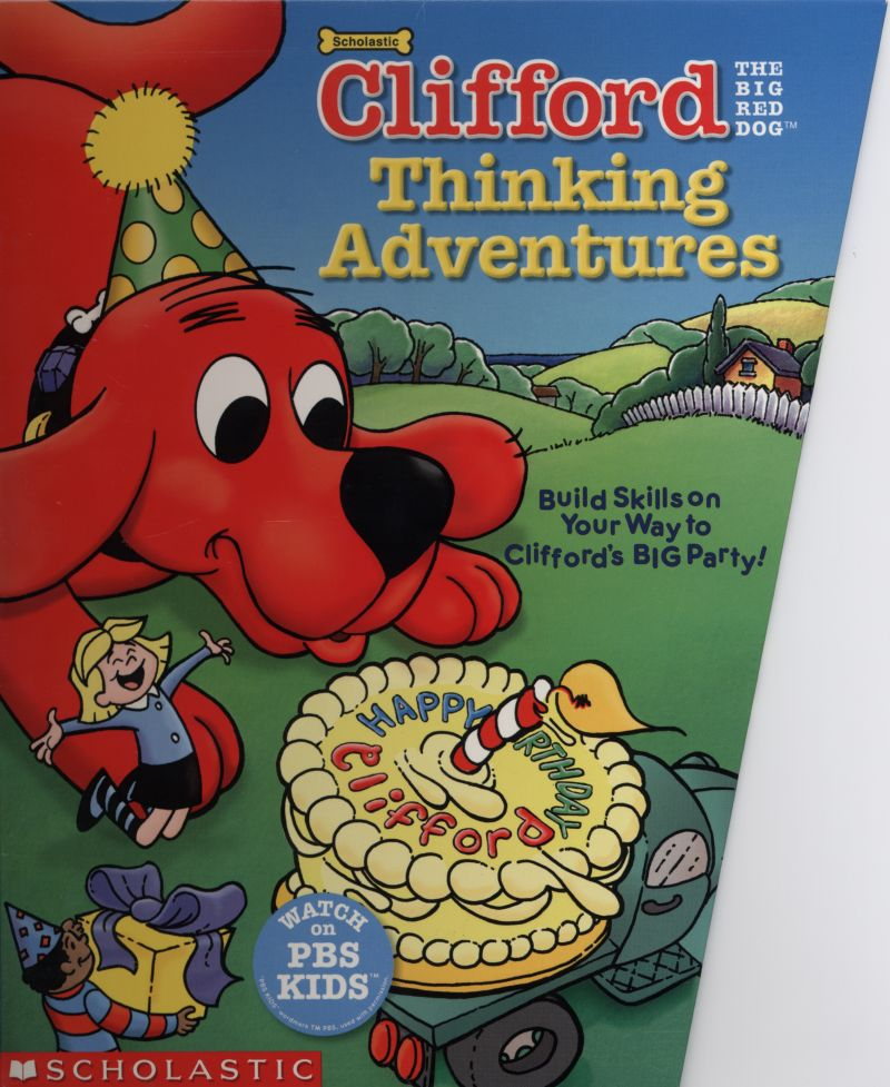Clifford the Big Red Dog: Thinking Adventures