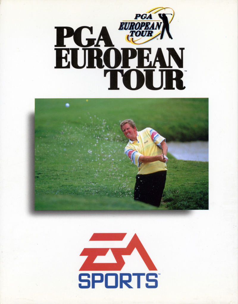 PGA European Tour DOS Front Cover