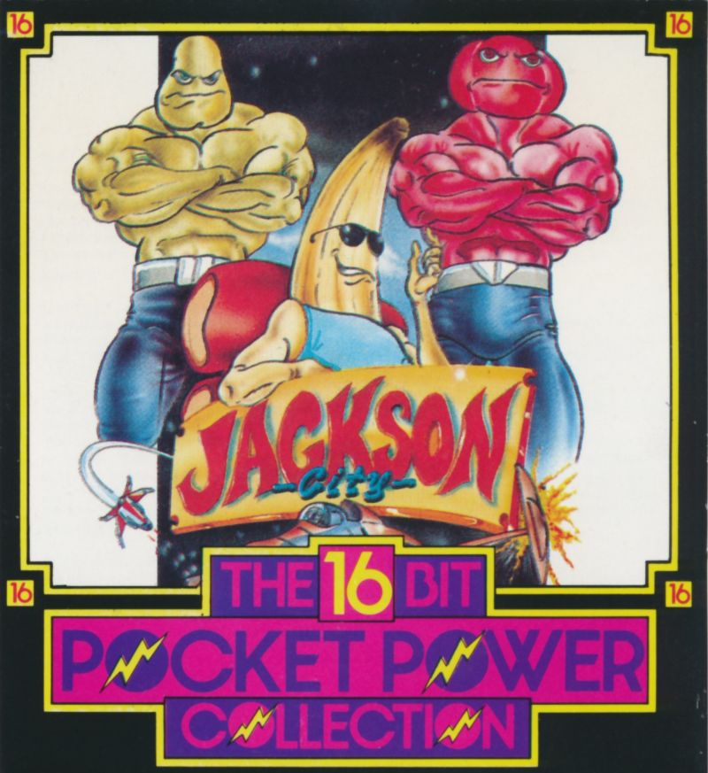 Jackson City DOS Front Cover