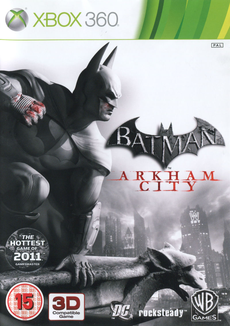 Batman: Arkham City Xbox 360 Front Cover