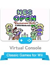 NES Open Tournament Golf Wii Front Cover
