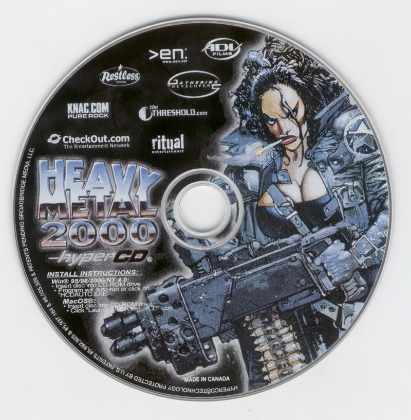 Heavy Metal: F.A.K.K. 2 Windows Media HyperCD Bonus Disc