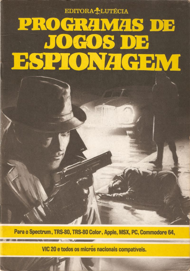 Computer Spy Games Apple II Front Cover