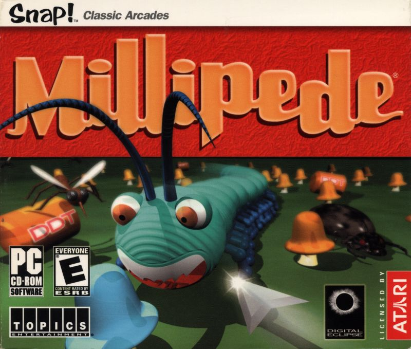 Millipede Windows Front Cover