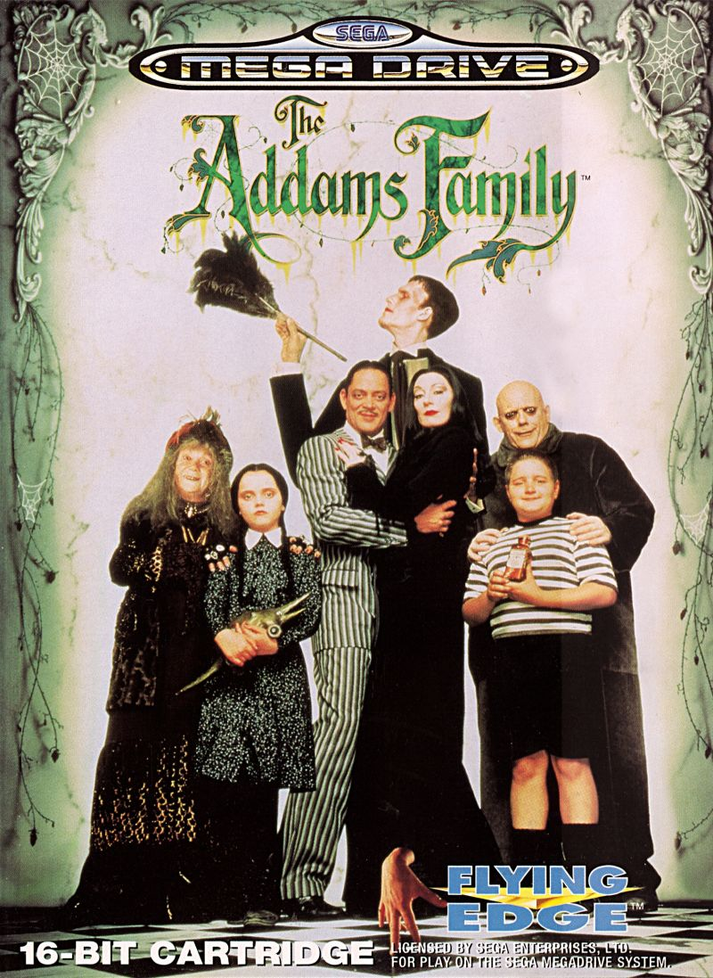 The Addams Family Genesis Front Cover