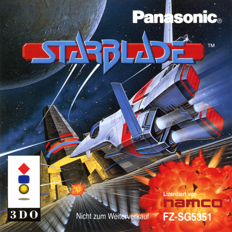 Starblade 3DO Front Cover