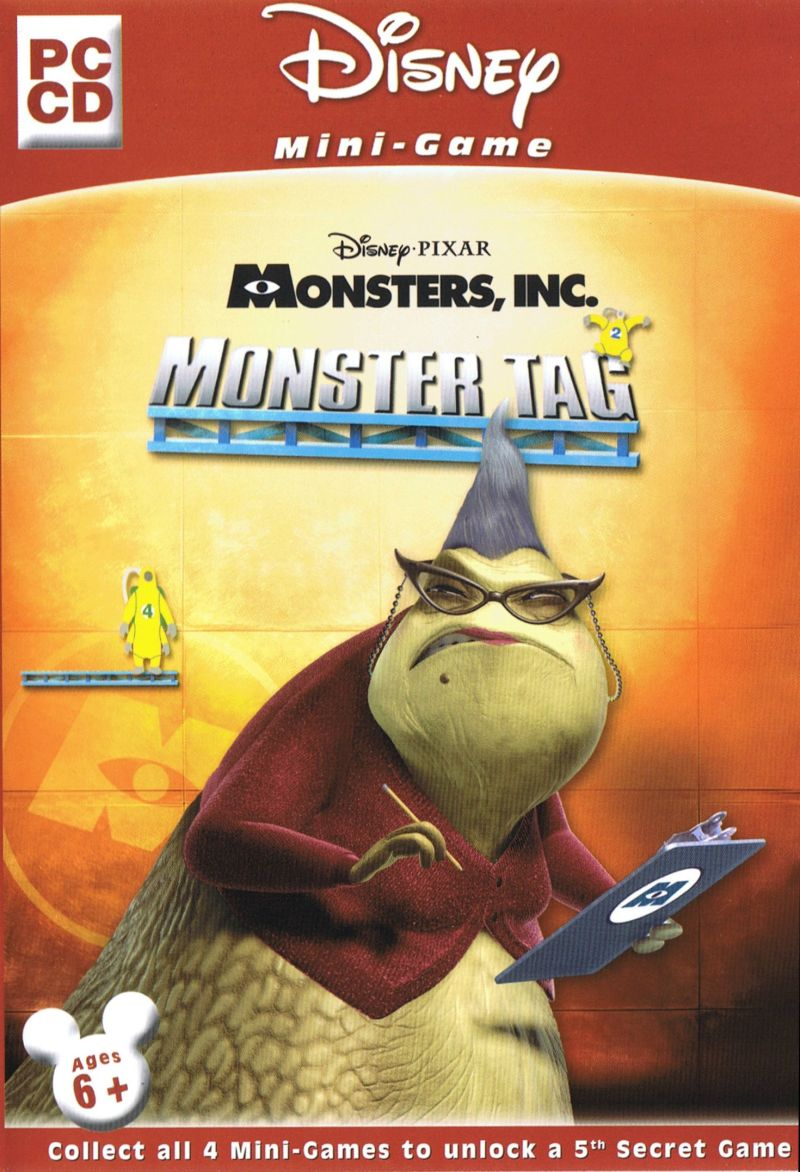 Disney•Pixar Monsters Inc.: Monster Tag Windows Front Cover