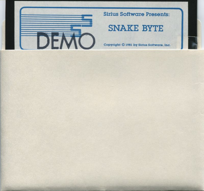 Snake Byte Apple II Media