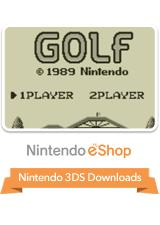Golf Nintendo 3DS Front Cover