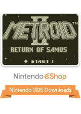 Metroid II: Return of Samus Nintendo 3DS Front Cover