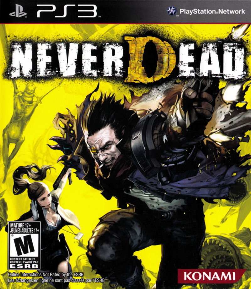 NeverDead PlayStation 3 Front Cover