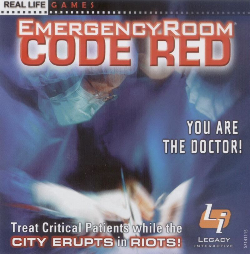 Emergency Room: Code Red Windows Other Jewel Case - Front