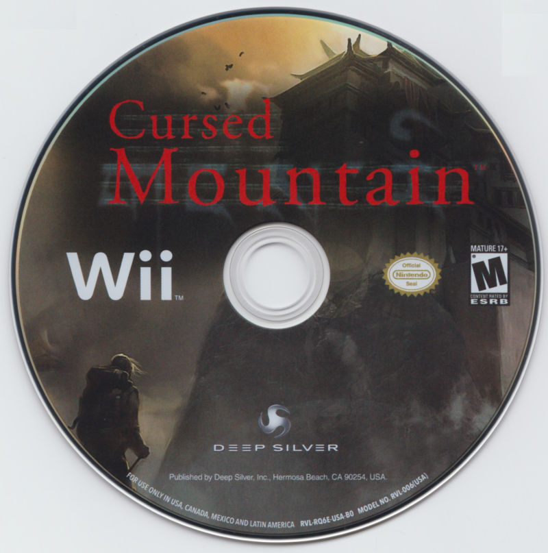 Cursed Mountain (Limited Edition) Wii Media Game Disc