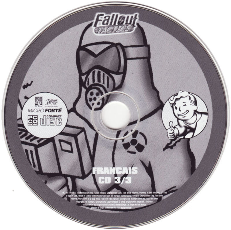 Fallout Tactics: Brotherhood of Steel  Windows Media CD 3/3