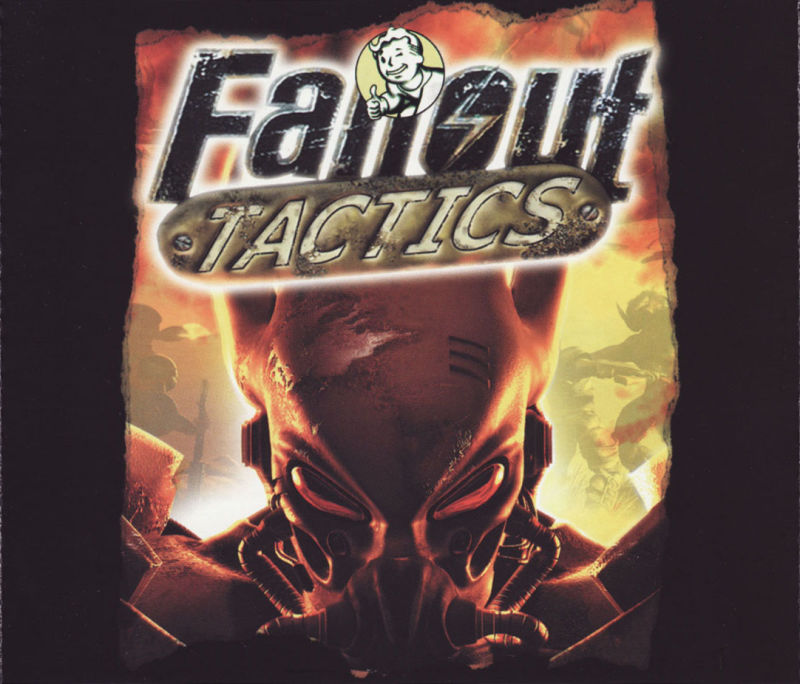 Fallout Tactics: Brotherhood of Steel  Windows Other Jewel Case - Inlay