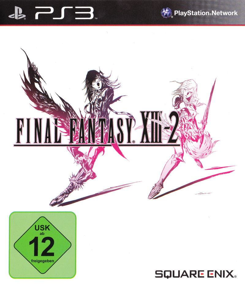 Final Fantasy XIII-2 (Limited Collector's Edition) PlayStation 3 Other Keep Case - Front