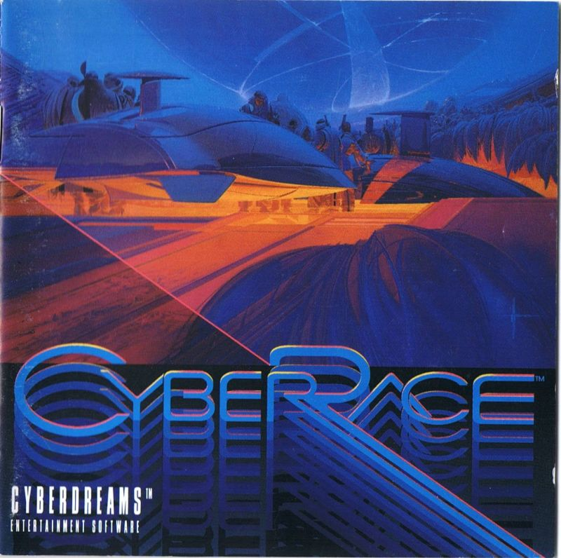 CyberRace DOS Other Jewel Case: Front