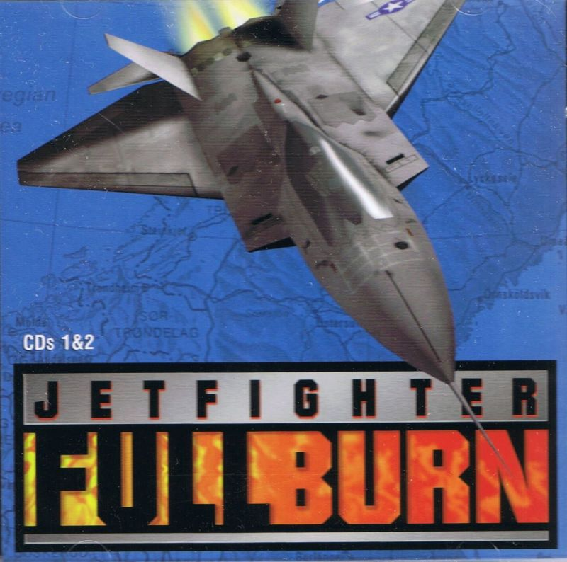 JetFighter: Full Burn DOS Other Jewel Case: CD 1 & 2: Front