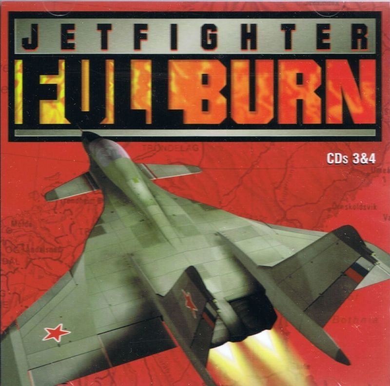 JetFighter: Full Burn DOS Other Jewel Case: CD 3 & 4: Front