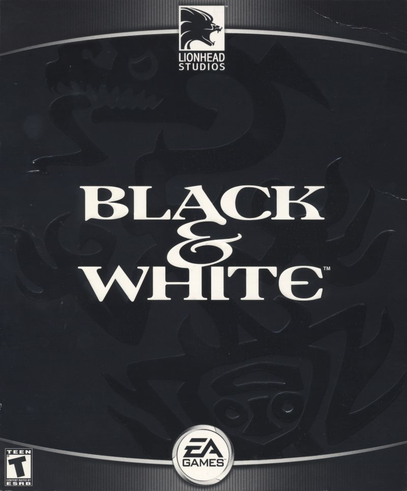 Black & White Windows Front Cover Black Side
