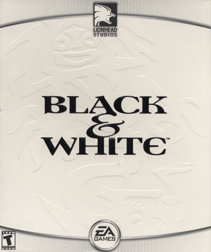 Black & White Windows Front Cover White Side