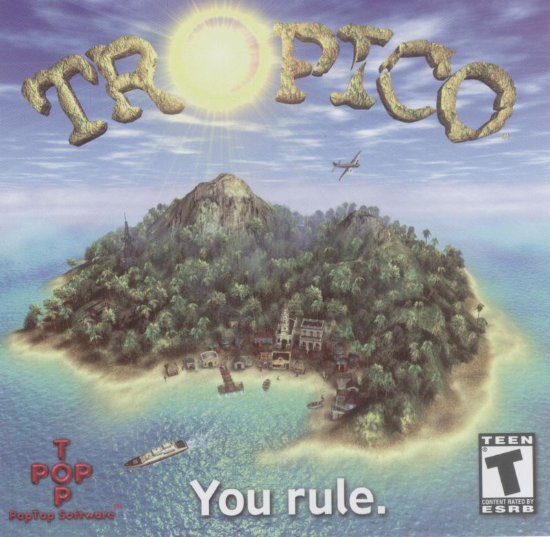 Tropico Windows Other Jewel Case - Front