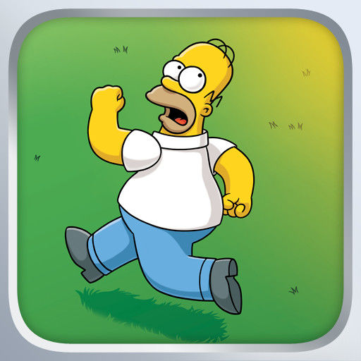 The Simpsons: Tapped Out iPad Front Cover