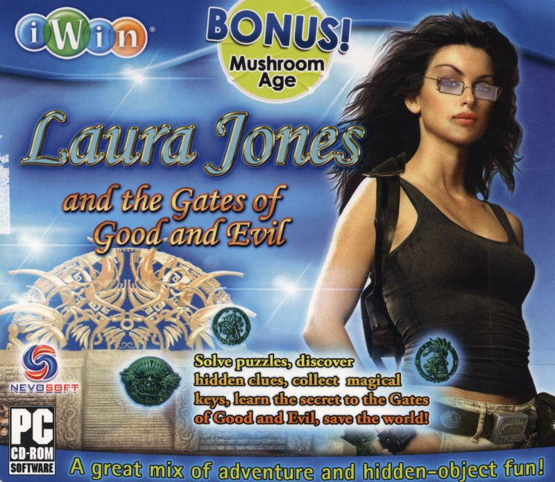 Laura Jones and the Gates of Good and Evil Windows Front Cover