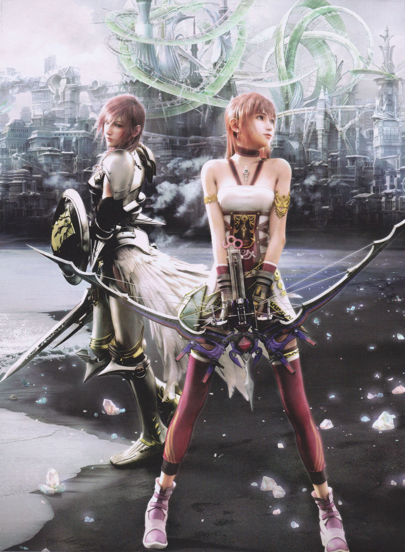Final Fantasy XIII-2 (Collector's Edition) PlayStation 3 Other Fold Case - Left