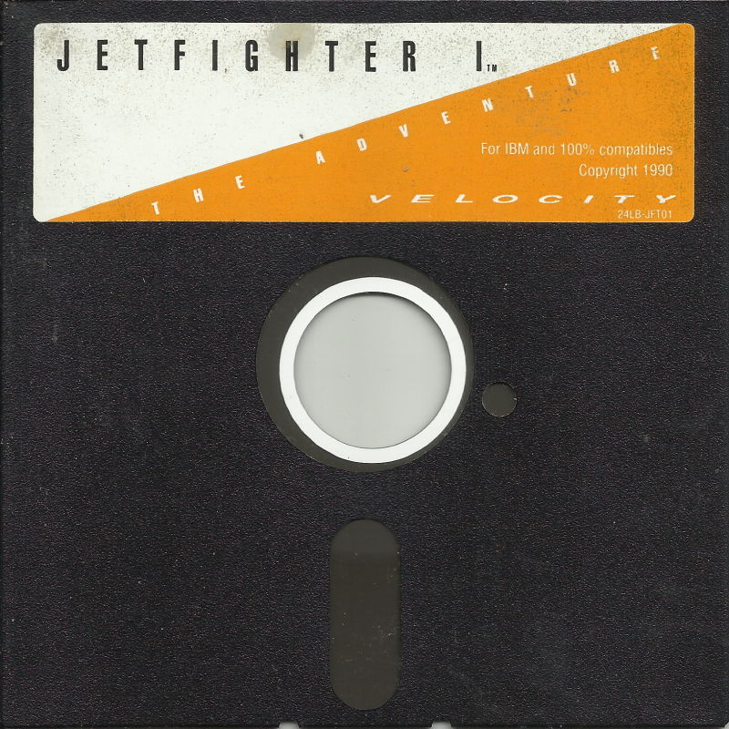 "JetFighter: The Adventure DOS Media 5.25"" Disk (1/1)"