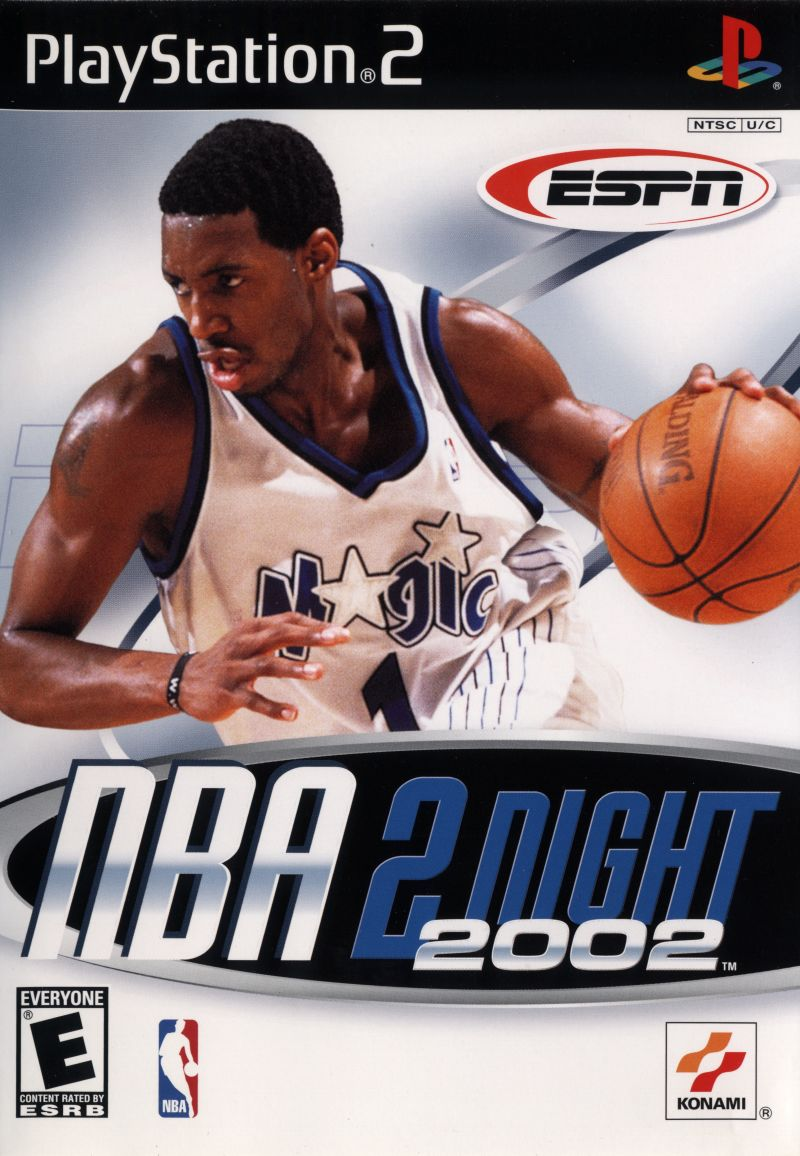ESPN NBA 2Night 2002 PlayStation 2 Front Cover
