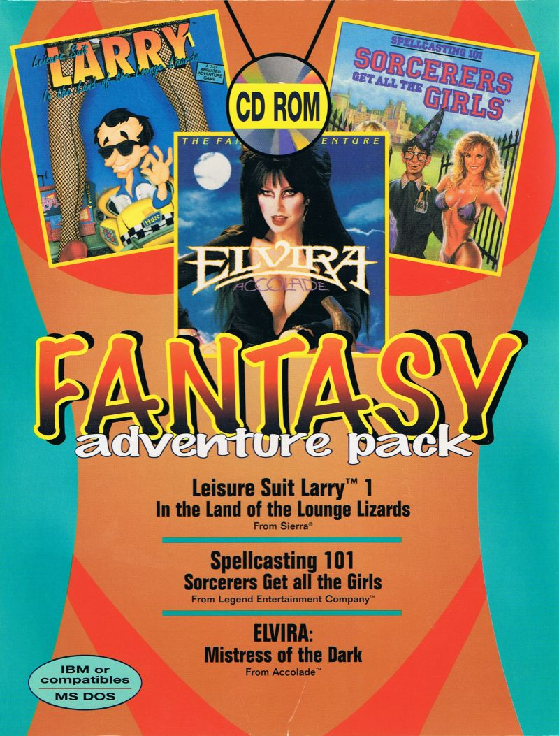 Fantasy Adventure Pack DOS Front Cover