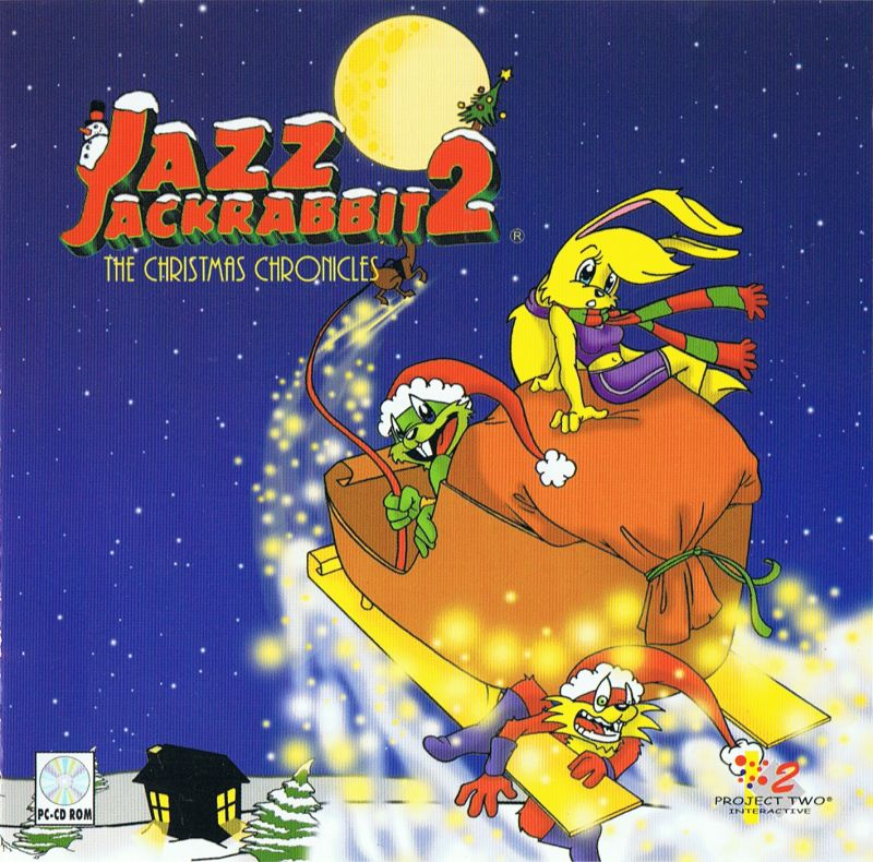 Jazz Jackrabbit 2: The Christmas Chronicles Windows Front Cover