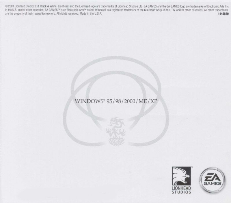 Black & White: Creature Isle Windows Other Jewel Case - Back