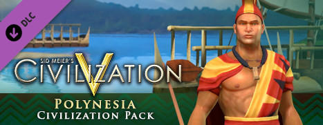 Sid Meier's Civilization V: Civilization and Scenario Pack - Polynesia Macintosh Front Cover