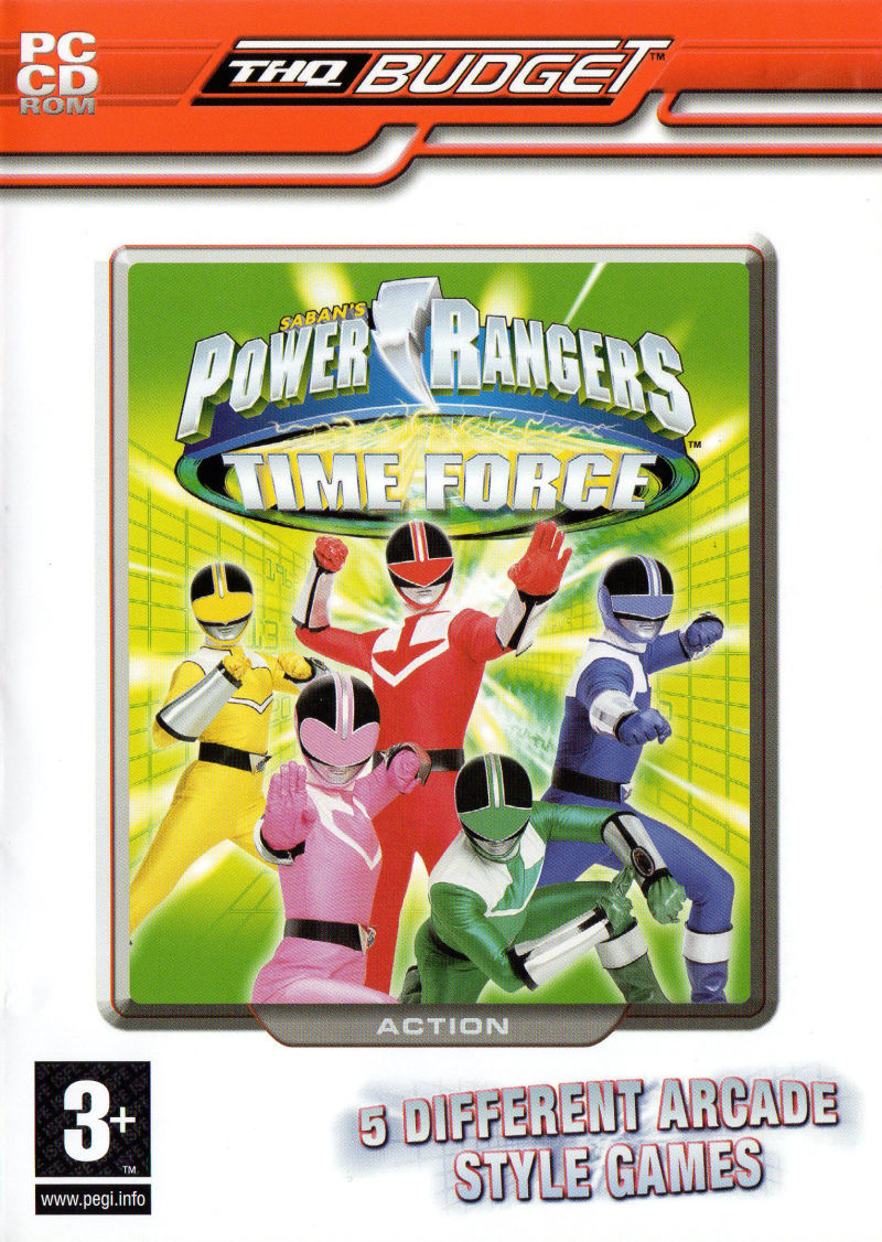Saban's Power Rangers: Time Force Windows Front Cover