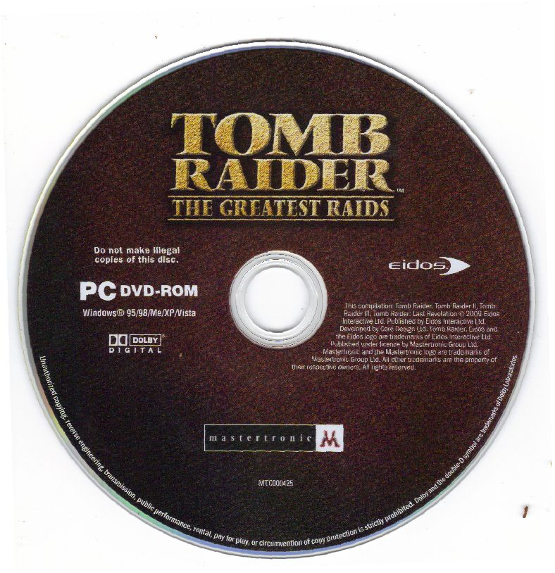 Tomb Raider: The Greatest Raids Windows Media