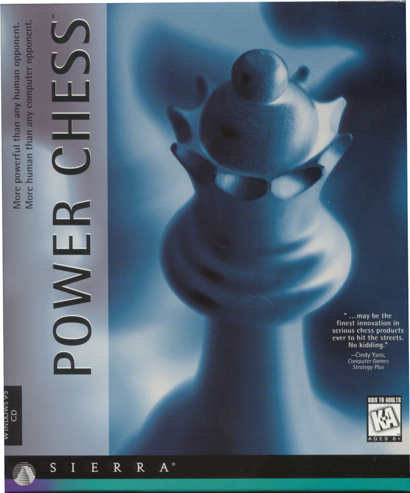 Power Chess Windows Front Cover