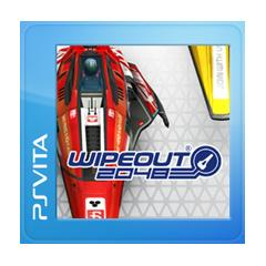 WipEout 2048 PS Vita Front Cover 1st version