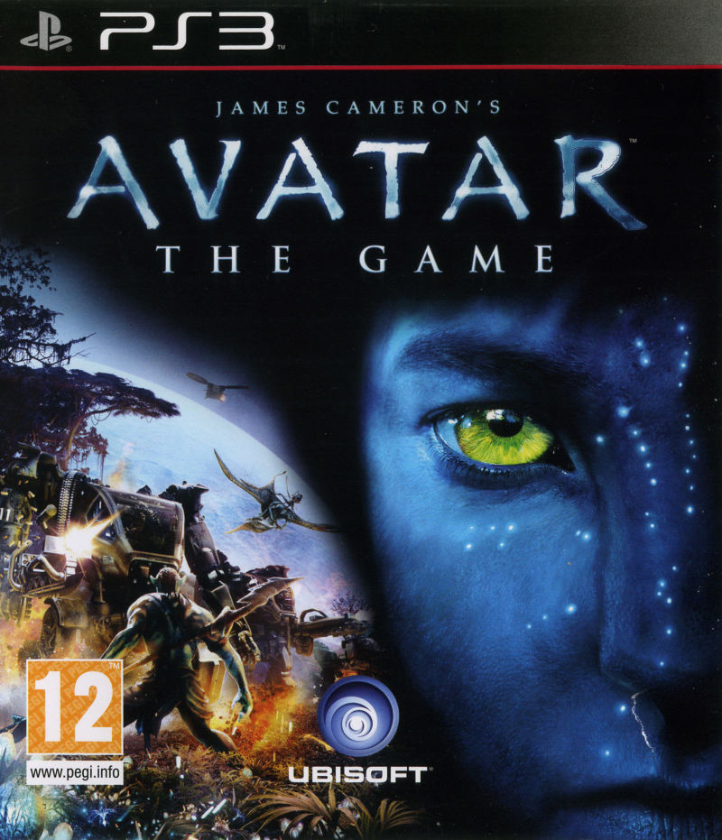 Avatar Games: James Cameron's Avatar: The Game (2009) PlayStation 3 Box