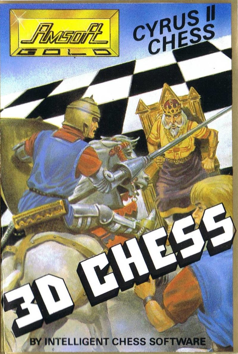 Cyrus II Chess Amstrad CPC Front Cover