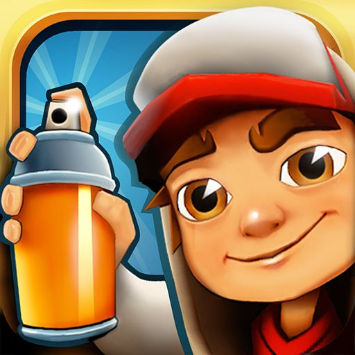 Subway Surfers Android Front Cover First version