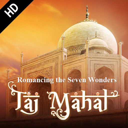 Romancing the Seven Wonders: Taj Mahal iPad Front Cover