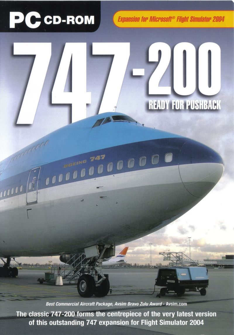 747-200 Ready for Pushback Windows Front Cover