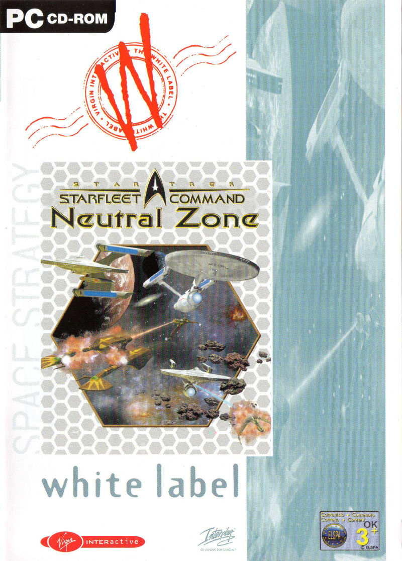 Star Trek: Starfleet Command - Neutral Zone Windows Front Cover